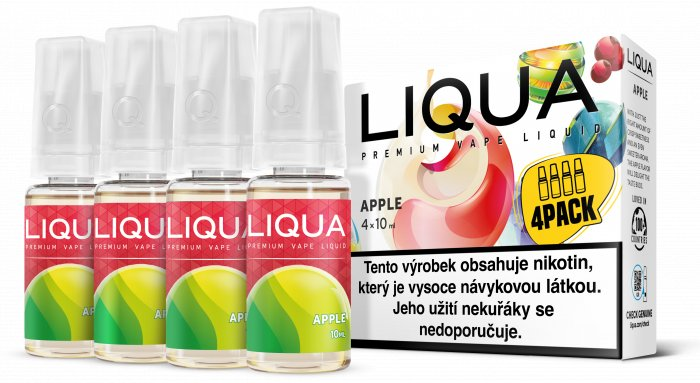 E-liquid LIQUA CZ Elements 4Pack Apple 4x10ml-12mg