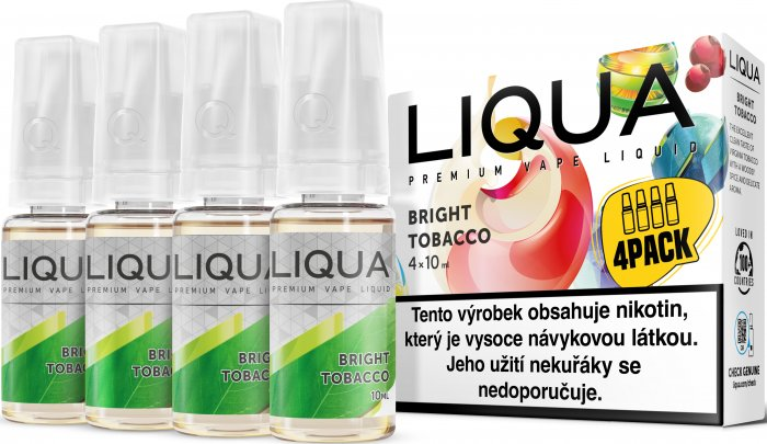 E-liquid LIQUA CZ Elements 4Pack Bright tobacco 4x10ml-12mg