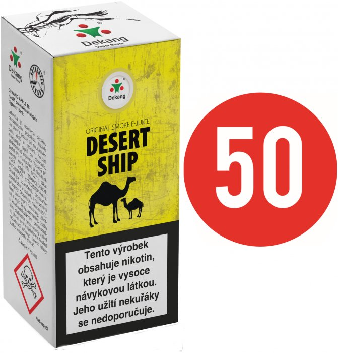 E-liquid Dekang Fifty Desert Ship 10ml - 18mg