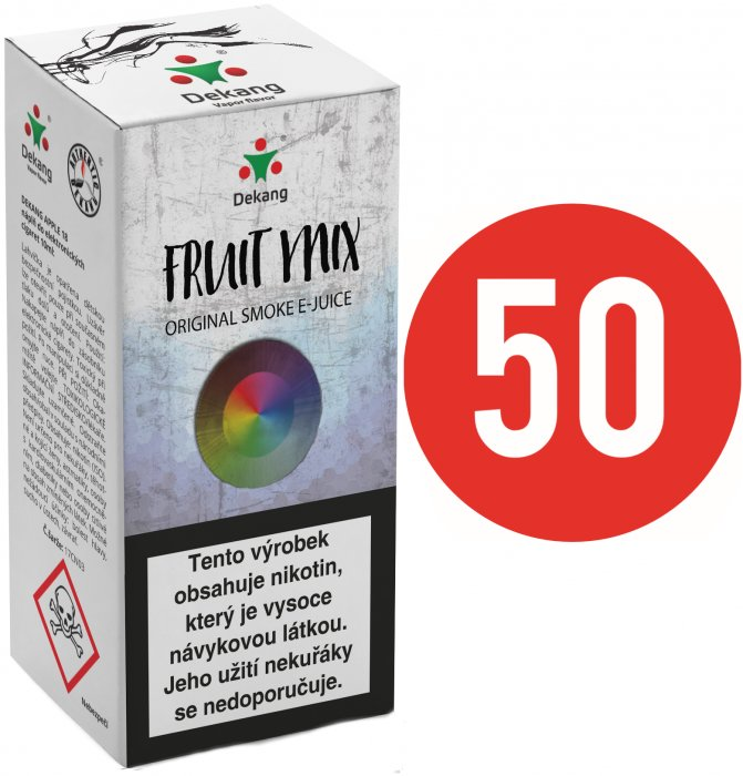 E-liquid Dekang Fifty Fruit Mix 10ml - 6mg