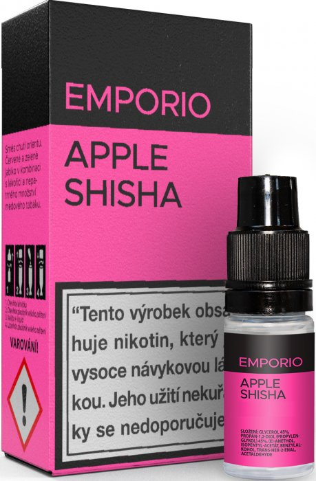 E-liquid EMPORIO Apple Shisha 10ml - 9mg