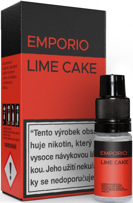 E-liquid EMPORIO Lime Cake 10ml - 6mg