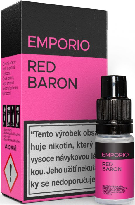E-liquid EMPORIO Red Baron 10ml - 3mg