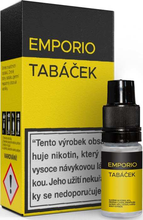 E-liquid EMPORIO Tobacco 10ml - 18mg