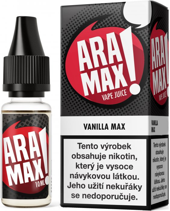 E-liquid ARAMAX Vanilla Max 10ml-18mg