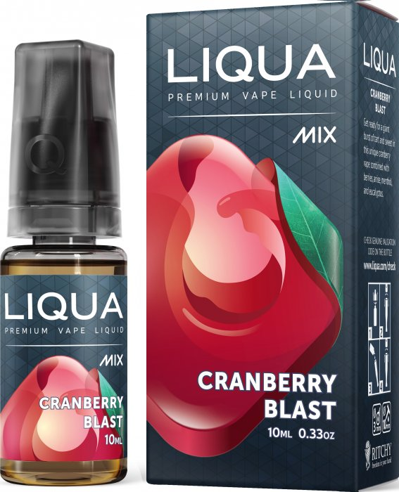 E-Liquid LIQUA MIX Cranberry Blast 10ml-0mg