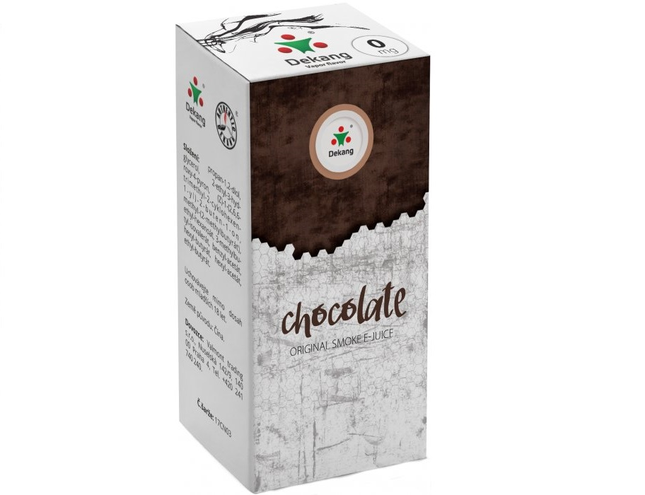 E-liquid Dekang Chocolate 10ml-6mg