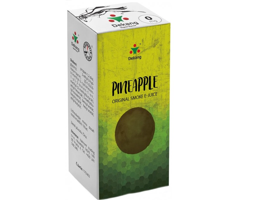 E-liquid Dekang Pineapple 10ml - 0mg