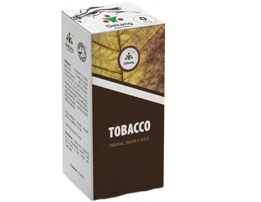 E-liquid Dekang Tobacco 10ml-3mg