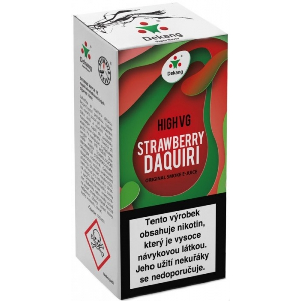 E-liquid Dekang High VG Strawberry Daquiri 10ml - 1,5mg (Strawberry + Lemon drink)
