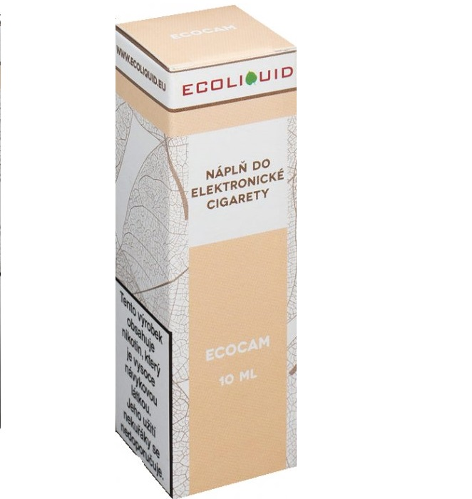 E-liquid Ecoliquid ECOCAM 10ml - 18mg