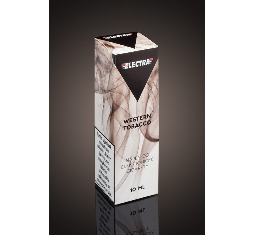 E-liquid ELECTRA Western Tobacco 10ml - 18mg
