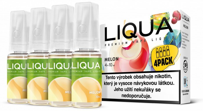 E-liquid LIQUA CZ Elements 4Pack Melon 4x10ml-3mg