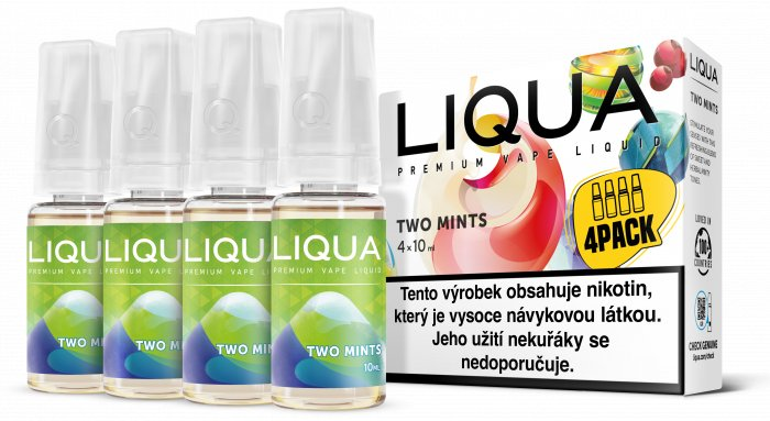 E-liquid LIQUA CZ Elements 4Pack Two mints 4x10ml-3mg