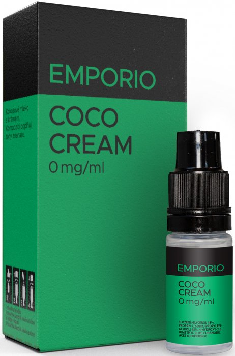 E-liquid EMPORIO Coco Cream 10ml - 0mg