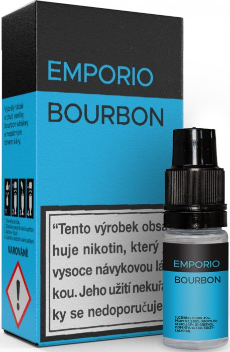 E-liquid EMPORIO Bourbon 10ml - 1,5mg