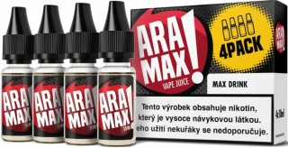 E-liquid ARAMAX 4Pack Max Drink 4x10ml-3mg