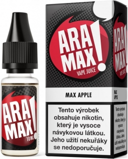 E-liquid ARAMAX Max Apple 10ml-0mg