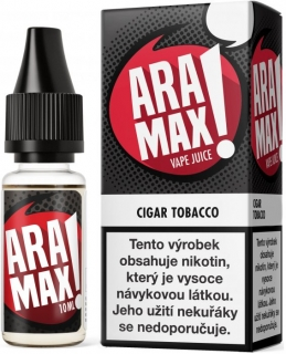 E-liquid ARAMAX Cigar Tobacco 10ml-6mg