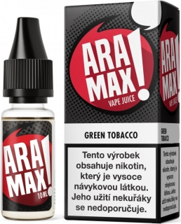 E-liquid ARAMAX Green Tobacco 10ml-6mg