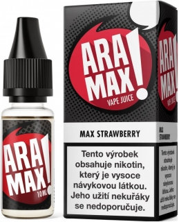 E-liquid ARAMAX Max Strawberry 10ml-6mg