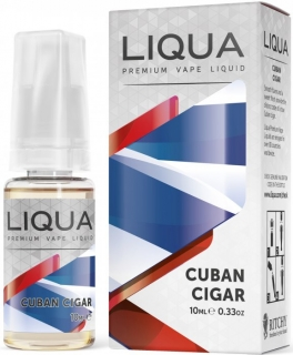 E-liquid LIQUA Elements Cuban Tobacco 10ml-12mg