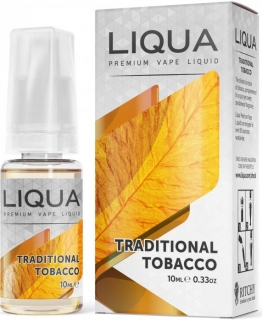 E-liquid LIQUA Elements Traditional Tobacco 10ml-18mg
