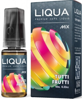 E-liquid LIQUA MIX Tutti Frutti 10ml-18mg