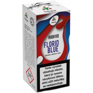 E-liquid Dekang High VG Florid Blue 10ml - 6mg (Ice bluebbery)