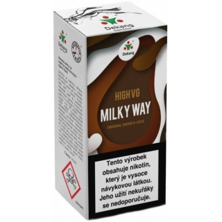 E-liquid Dekang High VG Milky Way 10ml - 3mg (Cheese cake with almonds)