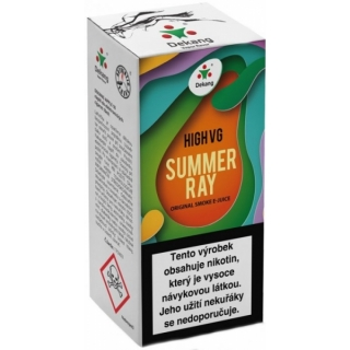 E-liquid Dekang High VG Summer Ray 10ml - 3mg (Fruit Mix)