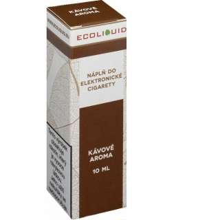 E-liquid Ecoliquid Coffee 10ml - 12mg