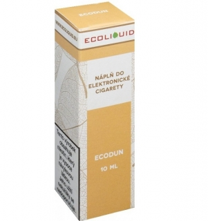 E-liquid Ecoliquid ECODUN 10ml - 12mg