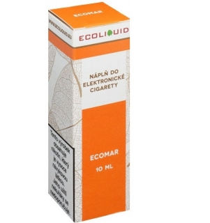 E-liquid Ecoliquid ECOMAR 10ml - 18mg