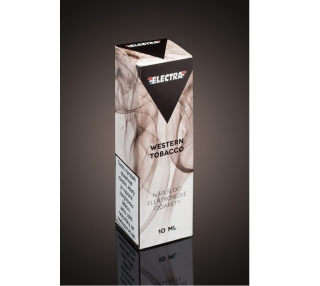 E-liquid ELECTRA Western Tobacco 10ml - 0mg