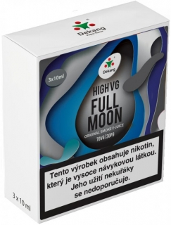 Liquid Dekang High VG 3Pack Full Moon 3x10ml - 1,5mg