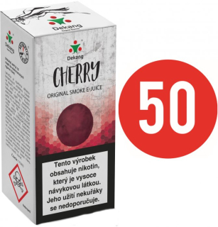 E-liquid Dekang Fifty Cherry 10ml - 3mg