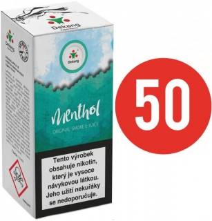 E-liquid Dekang Fifty Menthol 10ml - 3mg